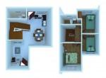 AHNorth-Phase1-InnerUnit-Hana-Floorplan3d